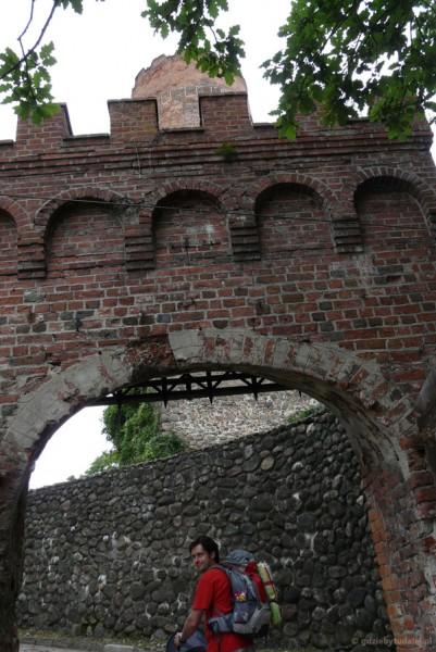 Wchodzimy na zamek joannitów, XIV w.
