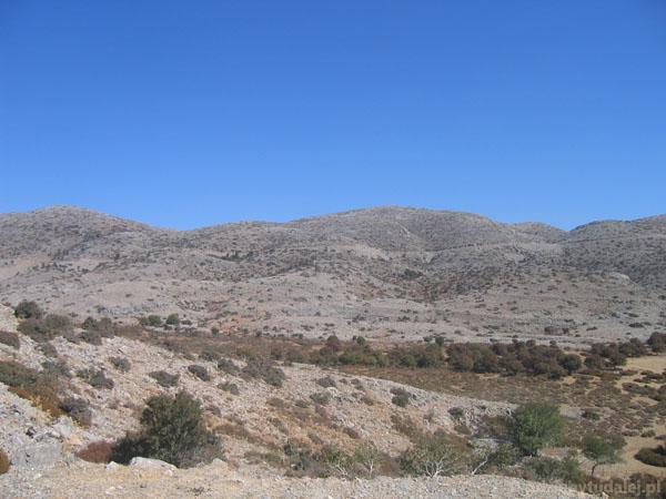 Wyżyna Nida (1500 m n.p.m.).