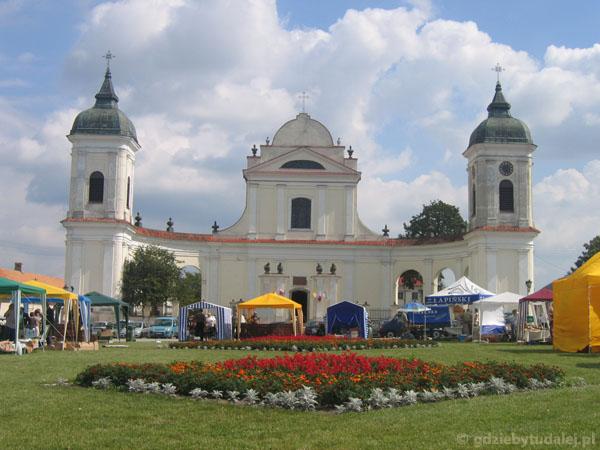 Barokowy kościół w Tykocinie