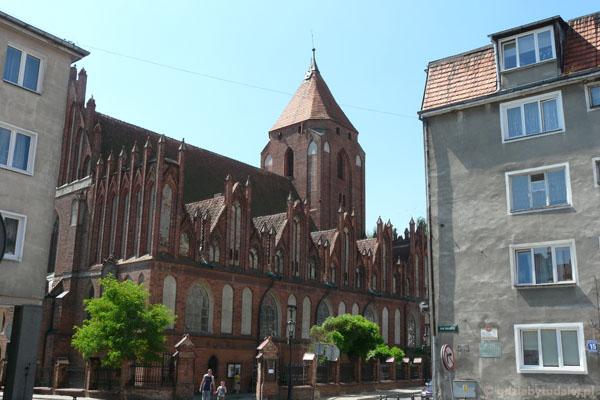 Kościół pw. Jana Chrzciciela, XIV w, Orneta.