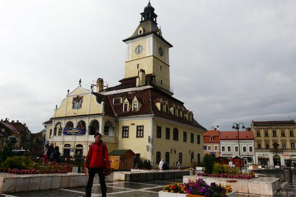 Ratusz, XV-XVI w., Braszów.