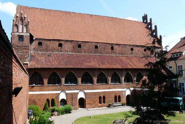 Zamek Kapituły Warmińskiej, XIV w.