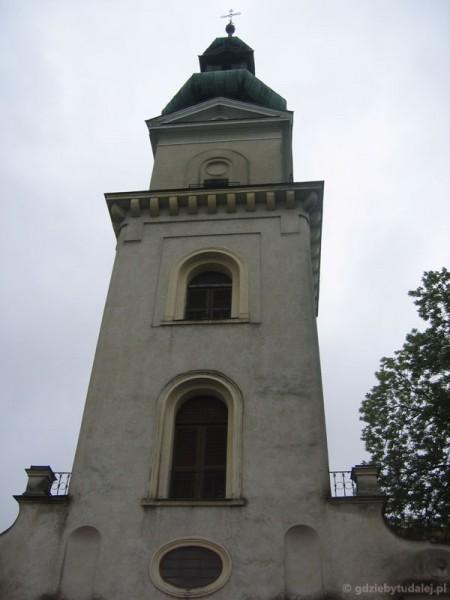 Zamość - wieża katedralna.