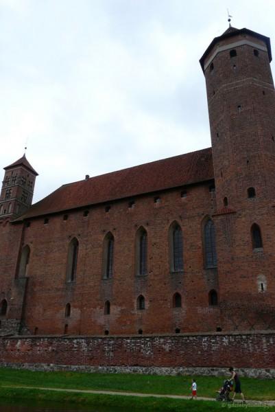 Zamek biskupów w Lidzbarku Warmińskim.