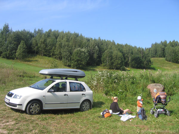 Piknik w SPK pod białą Fabią