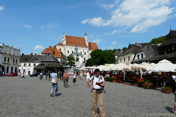 Rynek w Kazimierzu.