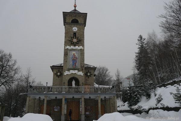 Sanktuarium Maryjne na Górce w Szczyrku.
