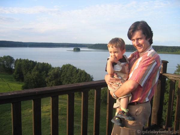 Widok na Jezioro Pierty