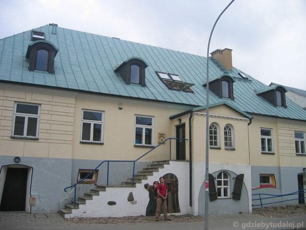 Dom ośrodka Pogranicze...