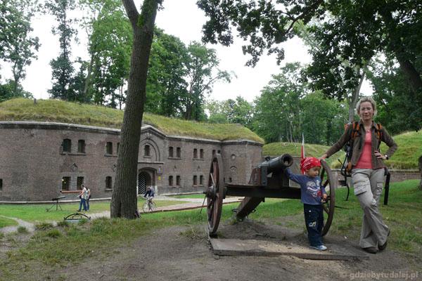 Główny budybek fortu.