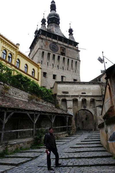 Sighisoara - wejście do miasta.
