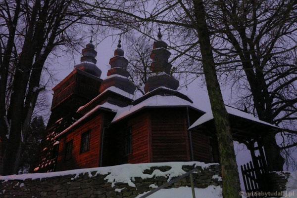 Cerkiew łemkowska w Wojkowej.
