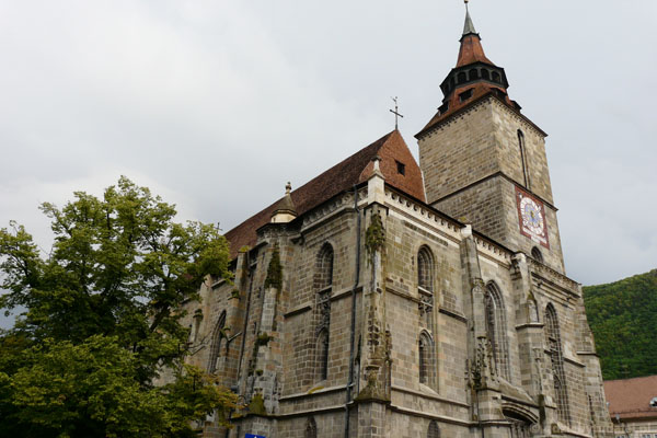 Czarny Kościół, XIV w.