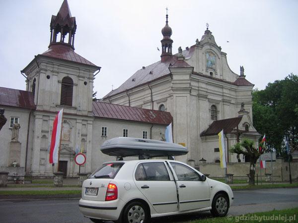 Klasztor w Krasnobrodzie.