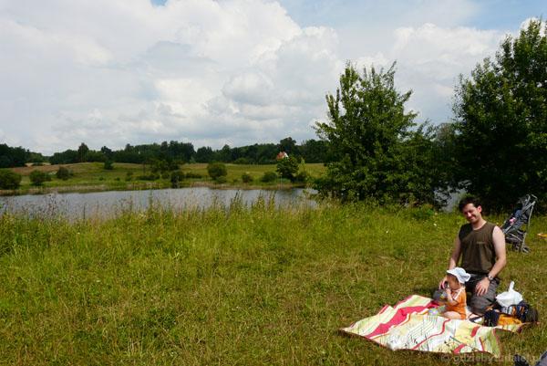 Mały piknik w Pieszkowie.