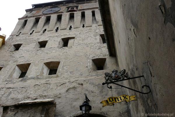 Sighisoara - Wieża Zegarowa.