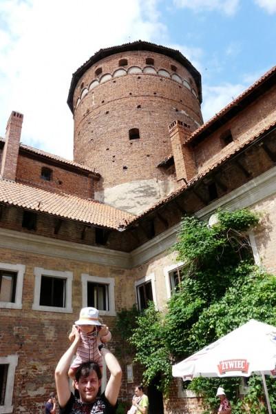 Zamek biskupów warmińskich w Reszlu.