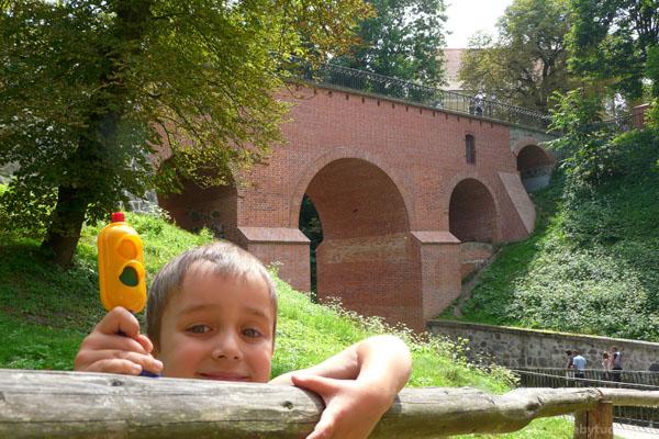 Gotycki most (XIV w), Reszel.