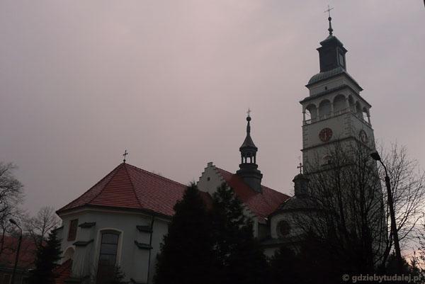 Katedra (XV w) w Żywcu.