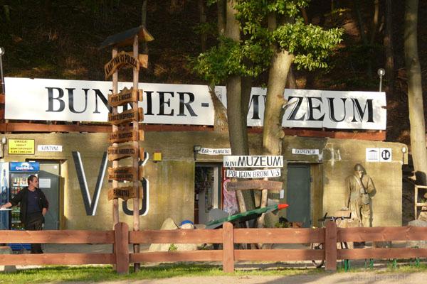 Ruiny wyrzutni V3, Zalesie.