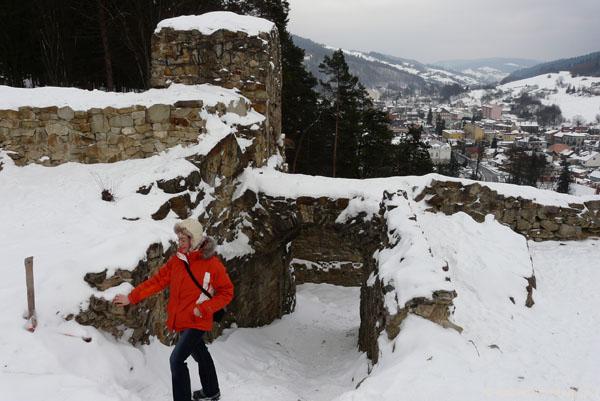 Ruiny zamku w Muszynie, XIV w.