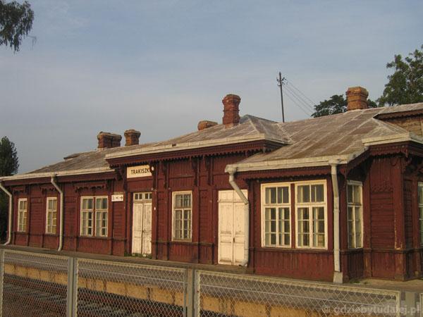 Stacja Trakiszki, XIX w - coś dla miłośników kolei