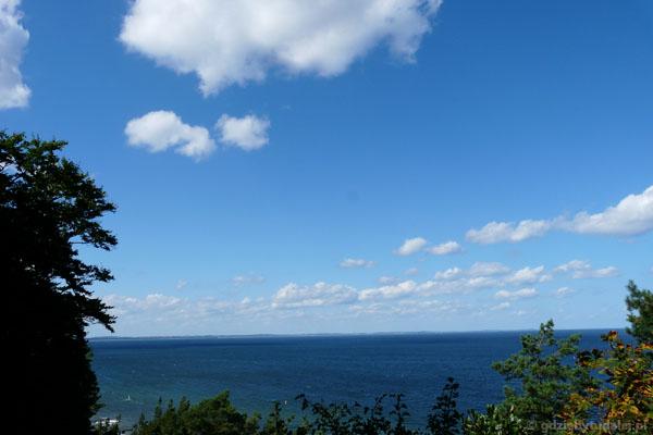 Widok na Zatokę Pomorską.