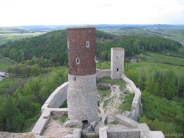 Zamek w Chęcinach (XIV w)