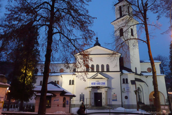Kościół w Krynicy.