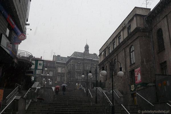 Ul. Przechod schodowy ;-), Biała.