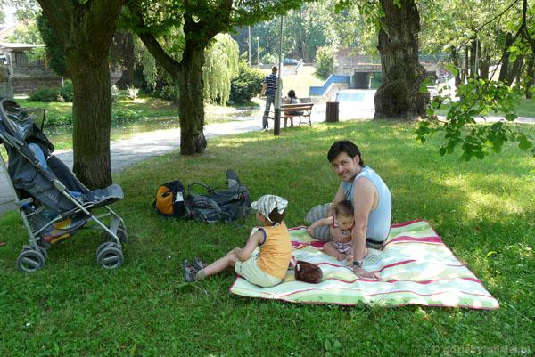 Popas w Parku Podzamcze.