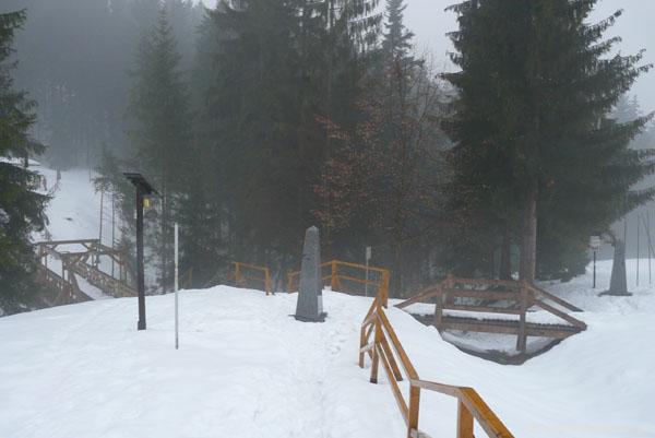 Trójstyk (PL,CZ,SK).