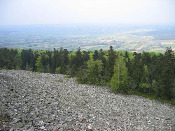 Gołoborza na Łysej Górze