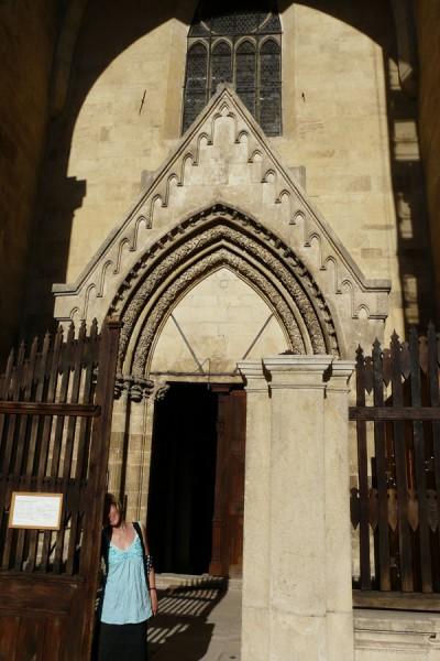 Portal w Katedrze Św. Michała.