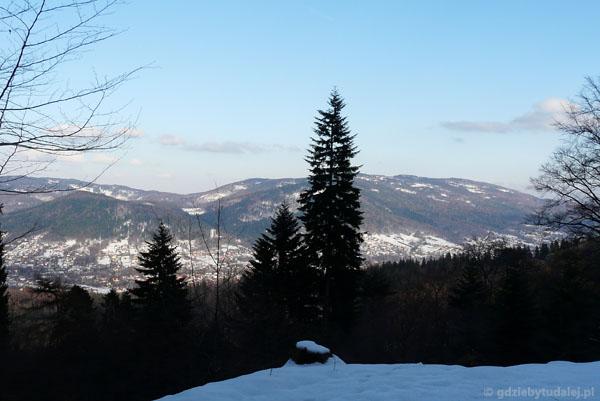 Widok na Bielsko-Białą.