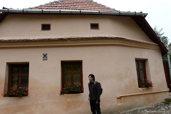 Średniowieczny dom.