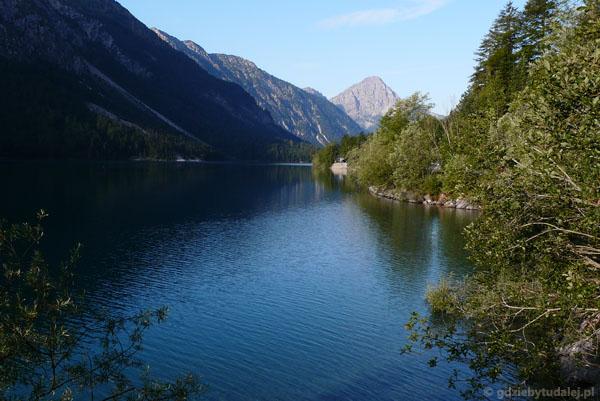 Austriackie Jezioro Plansee.