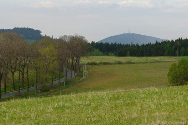 Chełmiec (851 m n.p.m.) - nasz dzisiejszy cel.