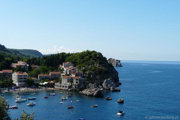 Czarnogórskie wybrzeże.