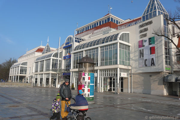 Dom Zdrojowy w Sopocie.