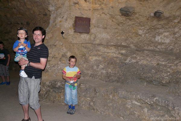 Jaskinia w Tapolcy - wchodzimy.