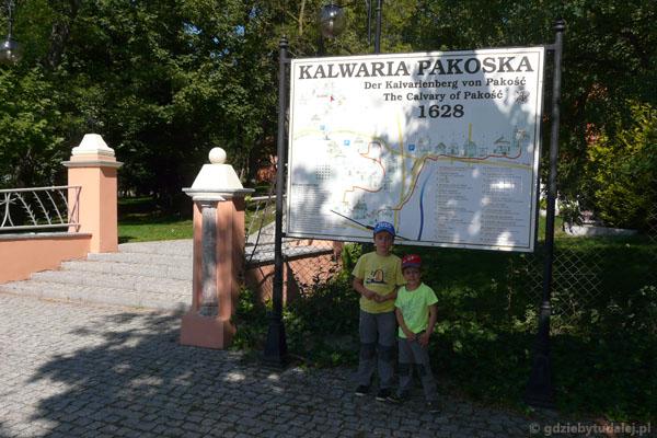 Kalwaria Pakoska - planujemy marszrutę.