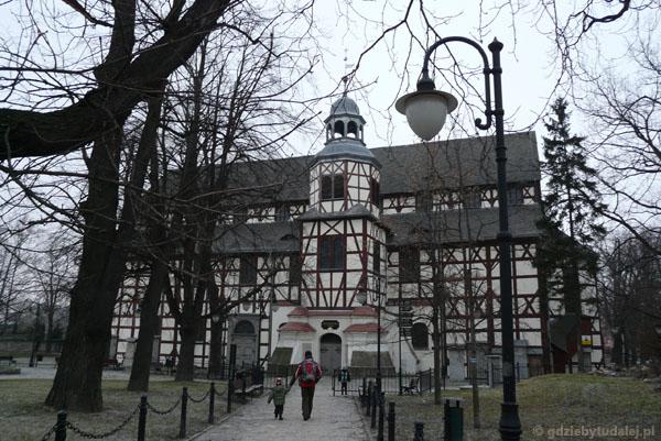 Kościół Pokoju (XVII) w Jaworze, wczenobarokowy.