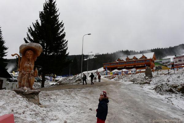 Ośrodek Czarna Góra - rekonesans.