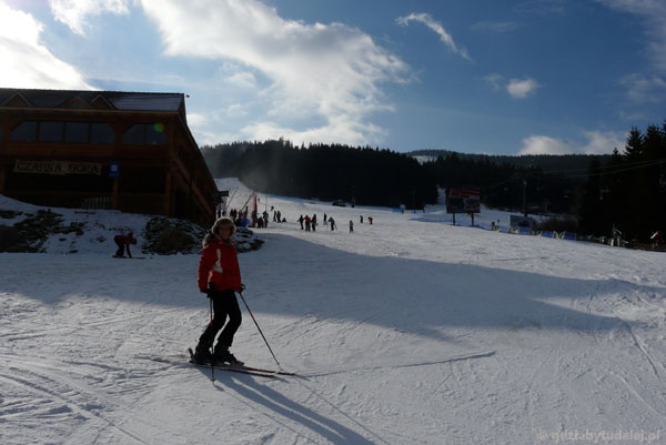 Ośrodek narciarski Czarna Góra.