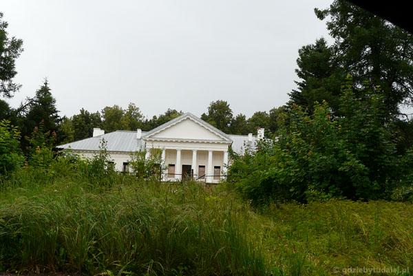 Palac Tyszkiewiczów, 1800 r, Orniany (Arnionys).