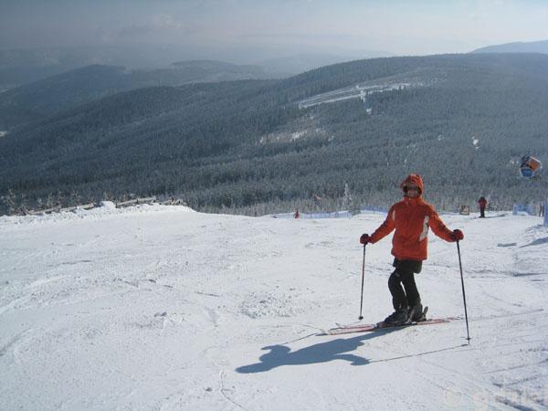 Pożegnalne narty na Czarnej Górze.