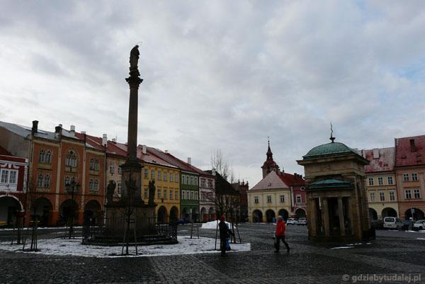 Rynek w Jiczynie.