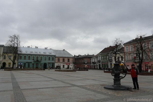 Rynek w Kielcach.