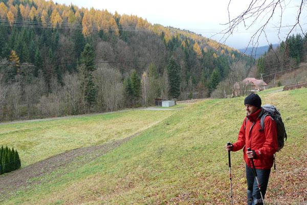 Szlakiem niebieskiem ze Szczawy na Mogielicę.